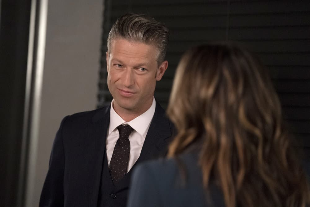 """LAW AND ORDER SVU Season 23 Episode 4 -- """"One More Tale of Two Victims"""" Episode 23004 -- Pictured: Peter Scanavino as Assistant District Attorney Sonny Carisi -- (Photo by: Heidi Gutman/NBC)"""