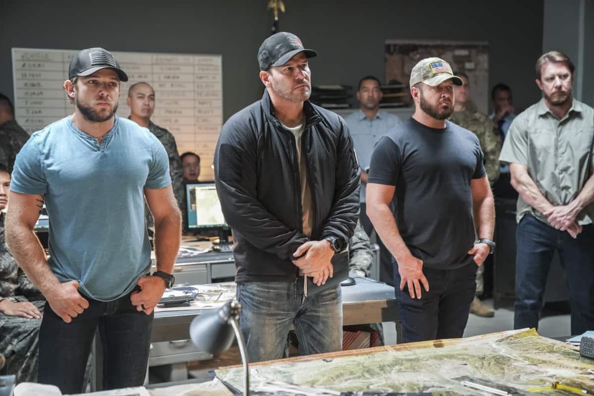 SEAL TEAM Season 5 Episode 1 Photos Trust But Verify Part 1