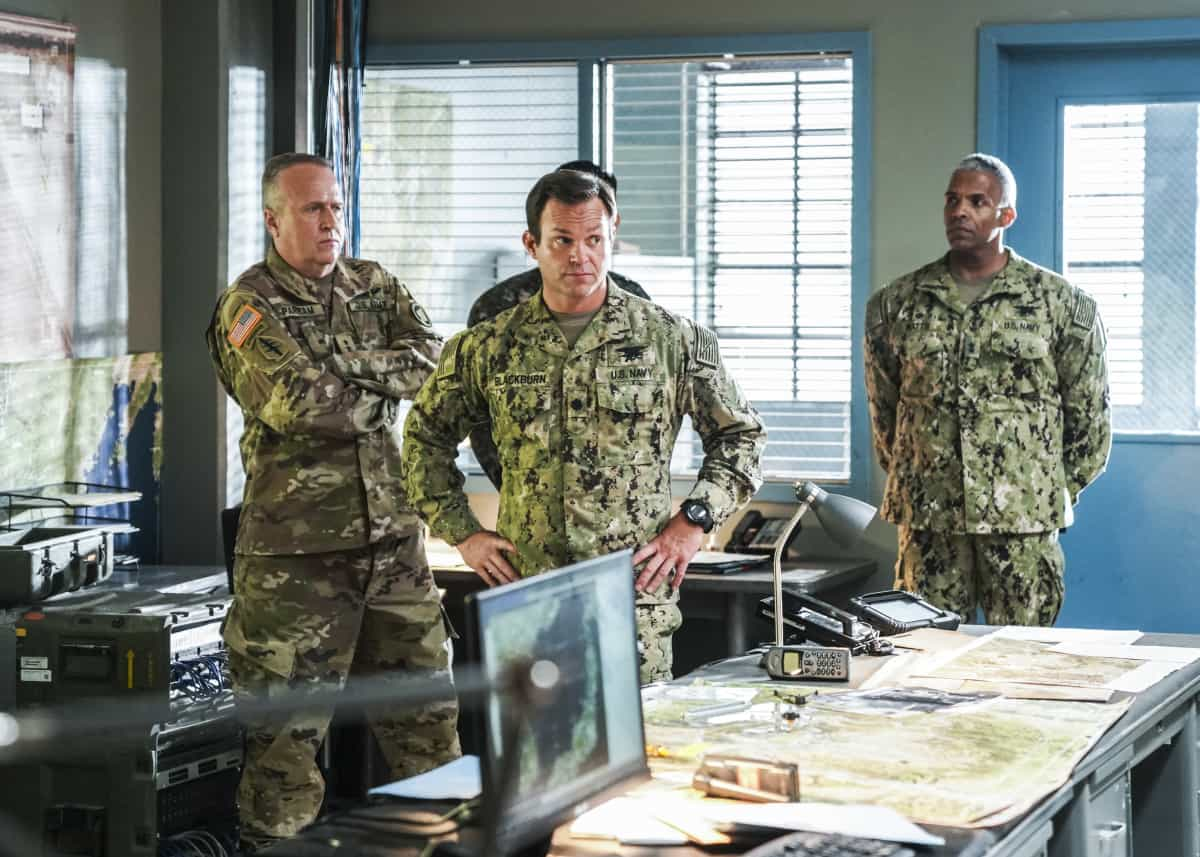 """SEAL TEAM Season 5 Episode 1 """"Trust, But Verify: Part 1"""" – Everyone on Bravo is shocked when they learn a training exercise is really cover for a covert mission to get a weapons expert out of one of the most dangerous countries in the world, on the fifth season premiere of SEAL TEAM, Sunday, Oct. 10 (10:00-11:00 PM, ET/PT) on the CBS Television Network, and available to stream live and on demand on Paramount+. Pictured: Judd Lormand as Lt. Cdr. Eric Blackburn. Photo: Ron P. Jaffe/CBS ©2021 CBS Broadcasting, Inc. All Rights Reserved."""