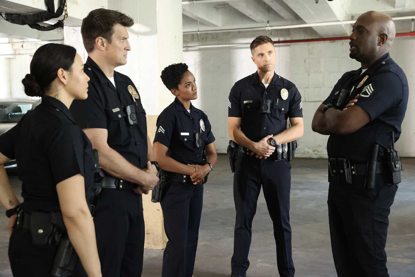 THE ROOKIE Season 4 Episode 3 Photos In The Line Of Fire