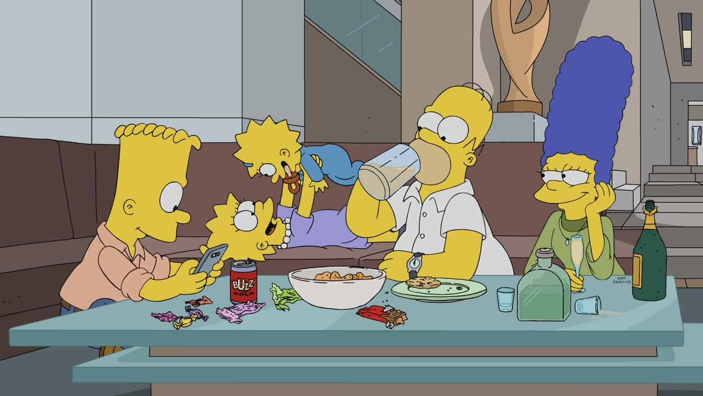 """THE SIMPSONS Season 33 Episode 3: Bong Joon-ho's """"Parasite,"""" Bambi's revenge and much, much more are featured in the """"Treehouse of Horror XXXII"""" episode of THE SIMPSONS airing Sunday, Oct. 10 (8:00-8:31 PM ET/PT) on FOX. THE SIMPSONS © 2021 by 20th Television."""