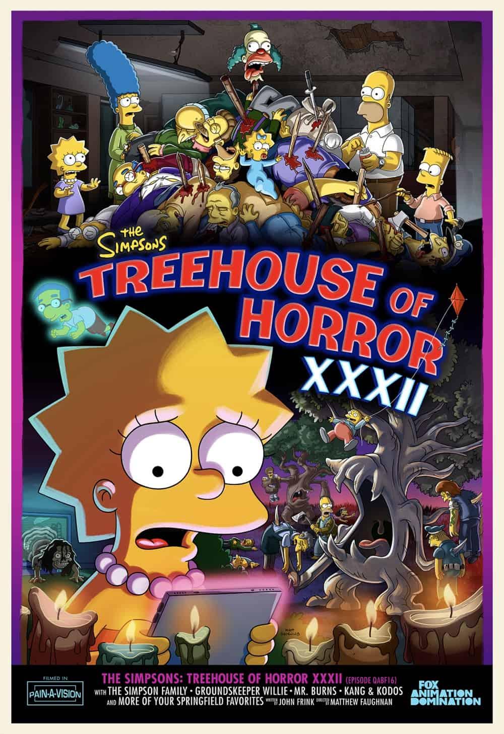 Simpsons THOH XXXII Poster