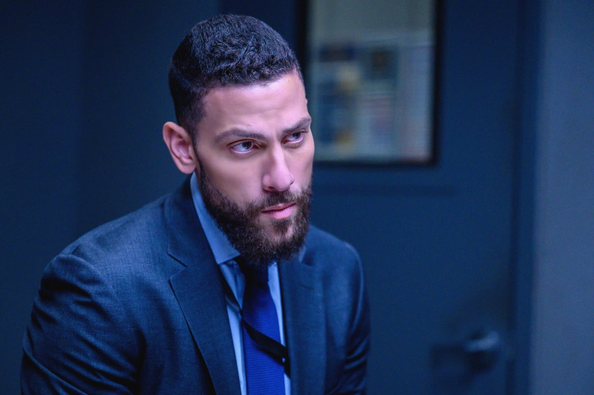 """FBI Season 4 Episode 4 """"Know Thyself"""" -- The team hunts for a serial killer who is targeting young, homeless men. Also, Tiffany and Scola don\'t see eye to eye on how to handle the case or the difference between partners and co-workers, on the CBS Original series FBI, Tuesday, Oct. 12 (8:00-9:00 PM, ET/PT) on the CBS Television Network, and available to stream live and on demand on Paramount+.   Pictured  Zeeko Zaki as Special Agent Omar Adom \'OA\' Zidan  Photo: David M. Russell/CBS 2021 CBS Broadcasting, Inc. All Rights Reserved"""