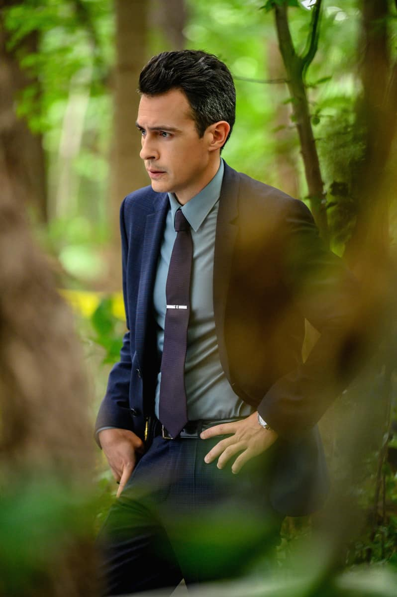 """FBI Season 4 Episode 4 """"Know Thyself"""" -- The team hunts for a serial killer who is targeting young, homeless men. Also, Tiffany and Scola don\'t see eye to eye on how to handle the case or the difference between partners and co-workers, on the CBS Original series FBI, Tuesday, Oct. 12 (8:00-9:00 PM, ET/PT) on the CBS Television Network, and available to stream live and on demand on Paramount+.   Pictured John Boyd as Special Agent Stuart Scola  Photo: David M. Russell/CBS 2021 CBS Broadcasting, Inc. All Rights Reserved"""