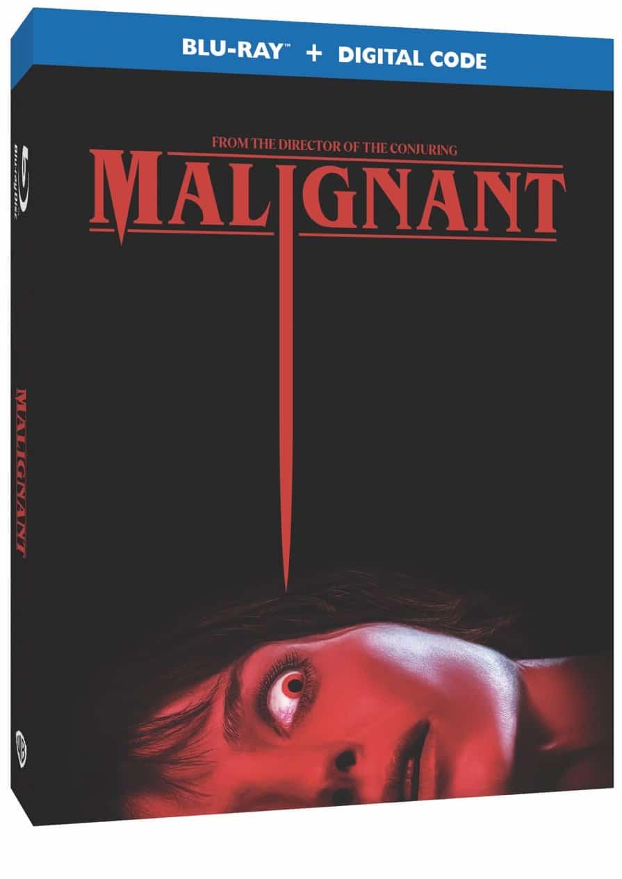 MALIGNANT Blu-ray Cover