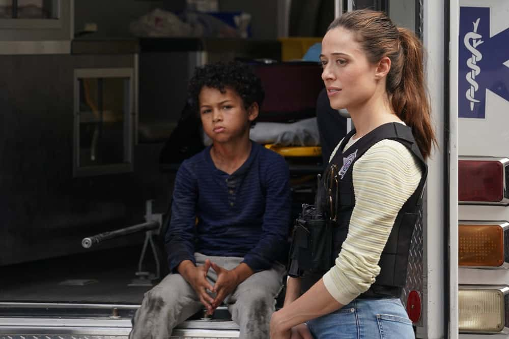 "CHICAGO PD Season 9 Episode 4 -- ""In The Dark"" Episode 904 -- Pictured: Marina Squerciati as Kim Burgess -- (Photo by: Lori Allen/NBC)"