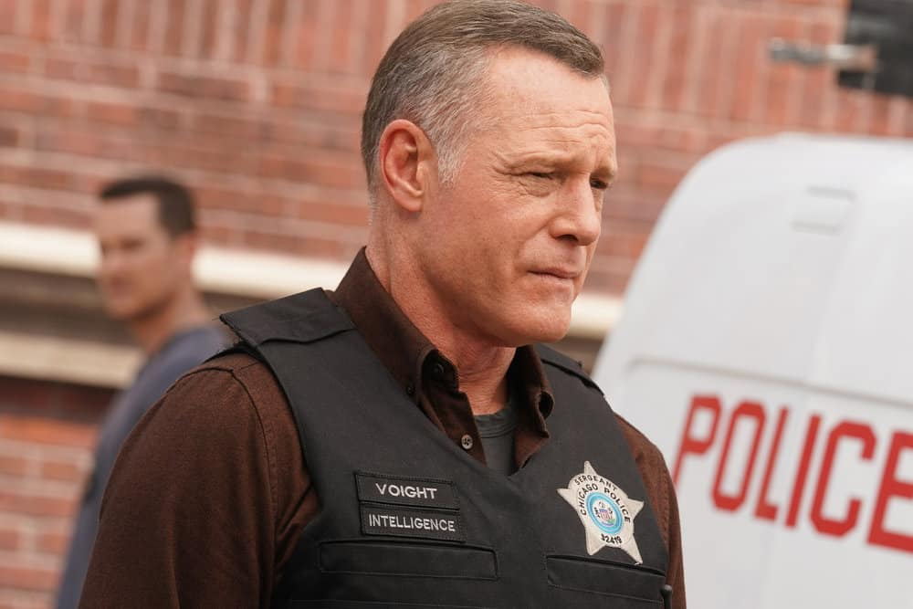 "CHICAGO PD Season 9 Episode 4 -- ""In The Dark"" Episode 904 -- Pictured: Jason Beghe as Hank Voight -- (Photo by: Lori Allen/NBC)"