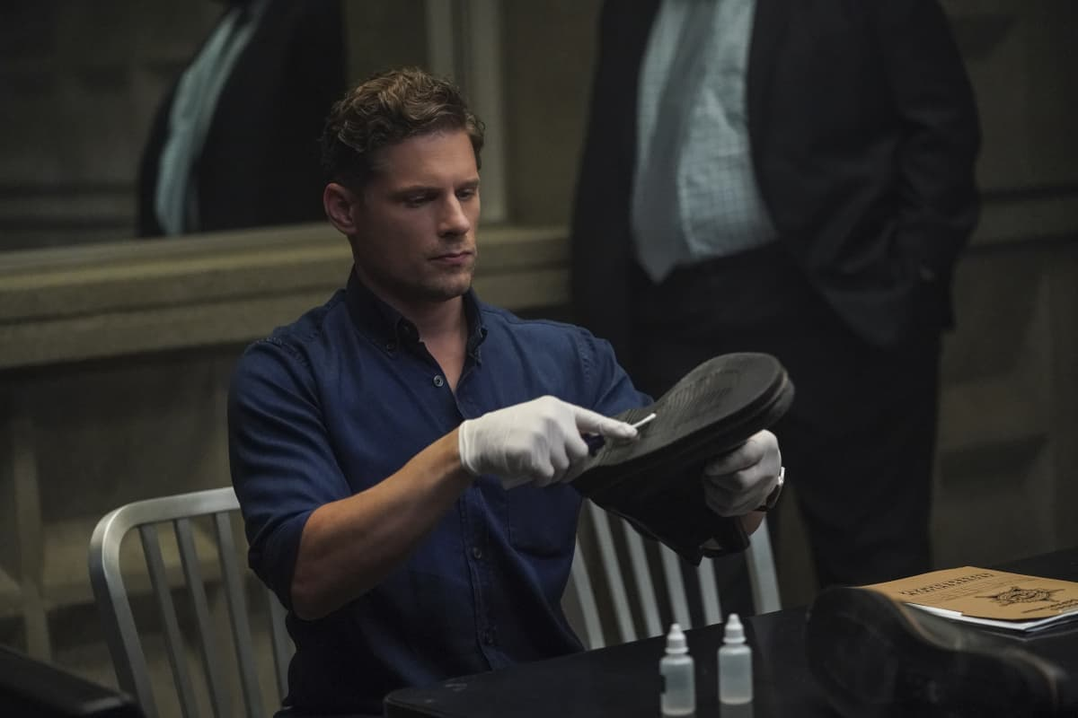"""CSI VEGAS Season 1 Episode 2 """"Honeymoon in Vegas"""" Gil Grissom and Sara Sidle come to the aid of a former colleague whoÕs been implicated in tampering with evidence. The rest of the CSI team works the murder of a couple slain on their wedding day, following the evidence to the salacious underbelly of the Las Vegas elite on CSI: VEGAS, Wednesday, Oct. 13 (10:00-11:00 PM, ET/PT) on the CBS Television Network and available to stream live and on demand on Paramount+. Pictured: Matt Lauria as Josh Folsom Photo: Sonja Flemming/CBS ©2021 CBS Broadcasting, Inc. All Rights Reserved."""