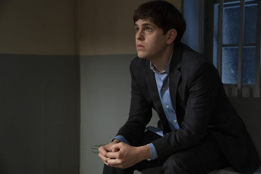 """LAW AND ORDER SVU Season 23 Episode 5 -- """"Fast Times @TheWheelHouse"""" Episode 23005 -- Pictured: Taylor Trensch as Diggy Wheeler -- (Photo by: Virginia Sherwood/NBC)"""