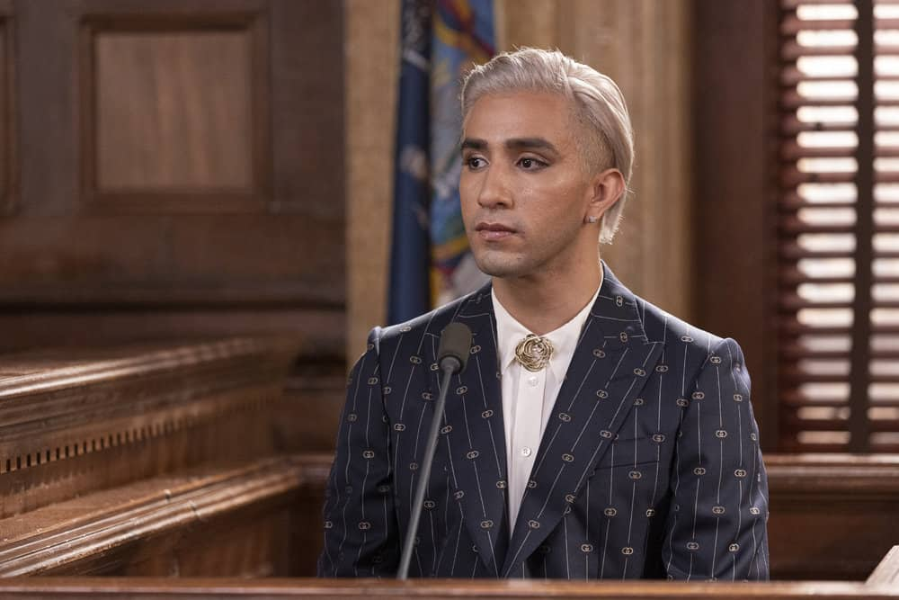 """LAW AND ORDER SVU Season 23 Episode 5 -- """"Fast Times @TheWheelHouse"""" Episode 23005 -- Pictured: Jake Ryan Lozano as Kevan Wright -- (Photo by: Eric Liebowitz/NBC)"""