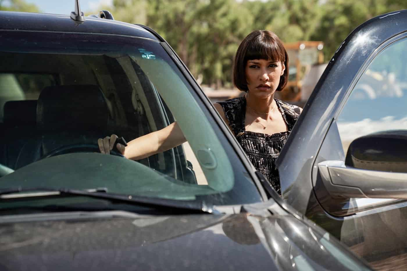 """BIG SKY Season 2 Episode 3 - """"You Have to Play Along"""" – After officially teaming up, Jenny and Cassie sit down with Tubb who reveals that this one goes far beyond their jurisdiction. Realizing Travis may be a man on the inside, Jenny reaches out for intel and learns the cartel is involved. With Tonya still missing, Cassie and Jenny fear the worst and kick their search into high gear. Meanwhile, the kids' plan continues to fall apart, with secrets and scheming threatening to land them in hot water, on an all-new episode of """"Big Sky,"""" THURSDAY, OCT. 14 (10:00-11:01 p.m. EDT), on ABC. (ABC/Michael Moriatis) JANINA GAVANKAR"""