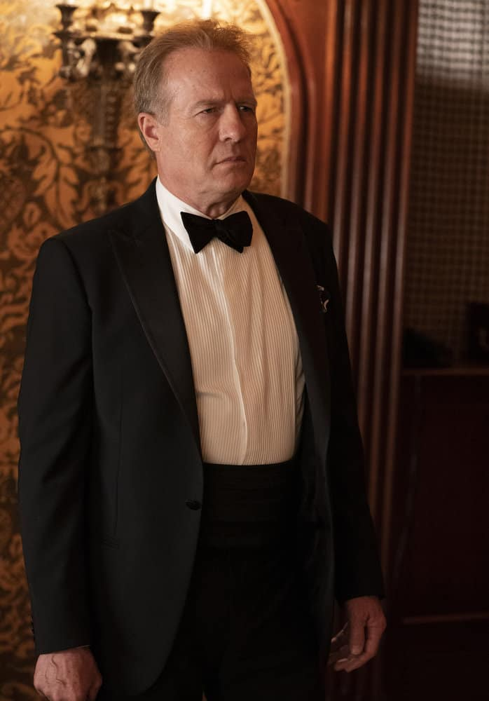 """LAW AND ORDER ORGANIZED CRIME Season 2 Episode 5 -- """"The Good, The Bad and The Lovely"""" Episode 205 -- Pictured: Gregg Henry as Edmund Ross -- (Photo by: Virginia Sherwood/NBC)"""