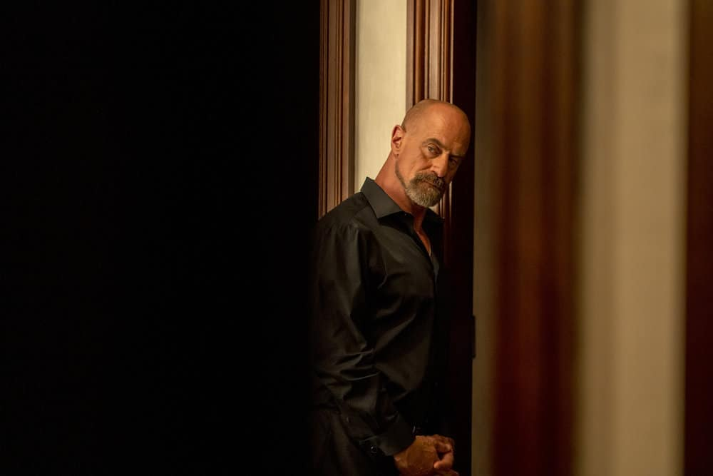 """LAW AND ORDER ORGANIZED CRIME Season 2 Episode 5 -- """"The Good, The Bad and The Lovely"""" Episode 205 -- Pictured: Christopher Meloni as Det. Elliot Stabler -- (Photo by: Zach Dilgard/NBC)"""
